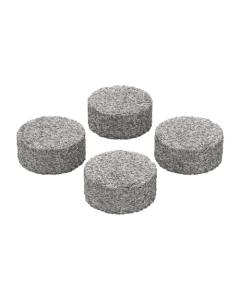 Dette sæt af koncentratplader passer i doserings kapslen  er brugt til vaporizing af wax og olier