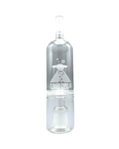 Obsidian Glas Bubbler gør dampen glattere at inhalere ved at køle dampen ned og forhøje fugtigheden