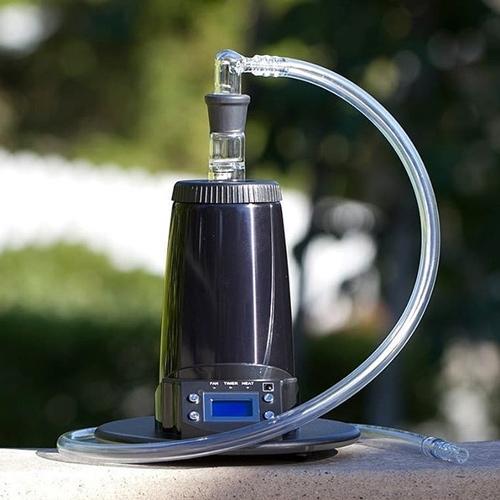 Arizer Extreme er en kraftfuld stationær vaporizer, som du kan bruge med både slange og ballon