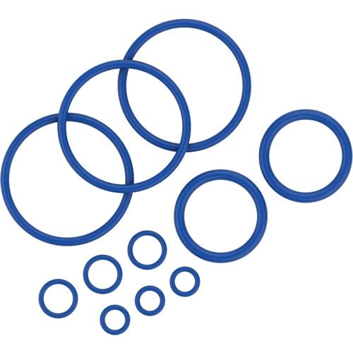 Pakningsringe sættet indeholder 11 pakningsringe i forskellige størrelser til Crafty vaporizer