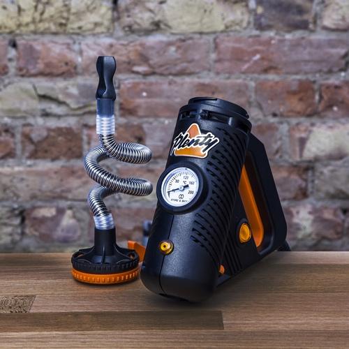 Plenty vaporizer har et meget unikt look og ligner et elværktøj